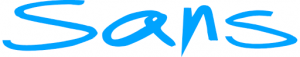 Sans online logo